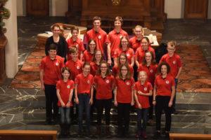 Jugendmusik Gruppenfoto